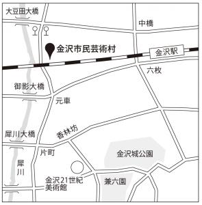金沢市民芸術村マップ